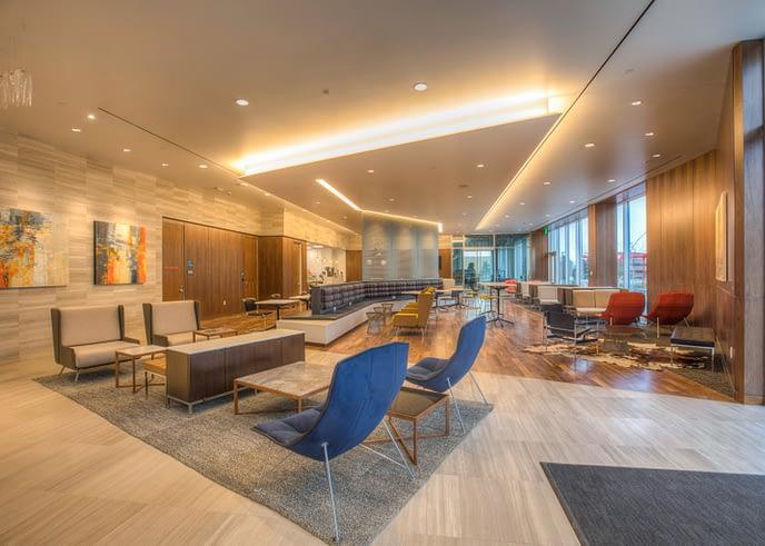 granite lobby