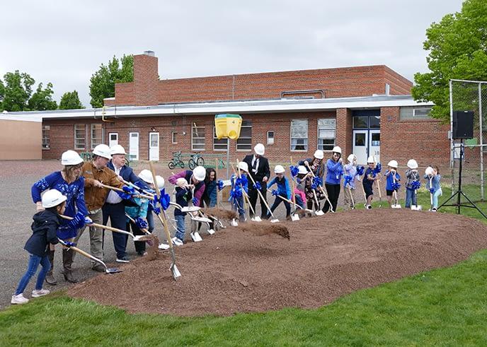 Washington Elementary Ground Breaking
