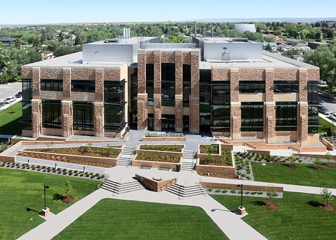 University of Wyoming's Engineering Education and Research Building