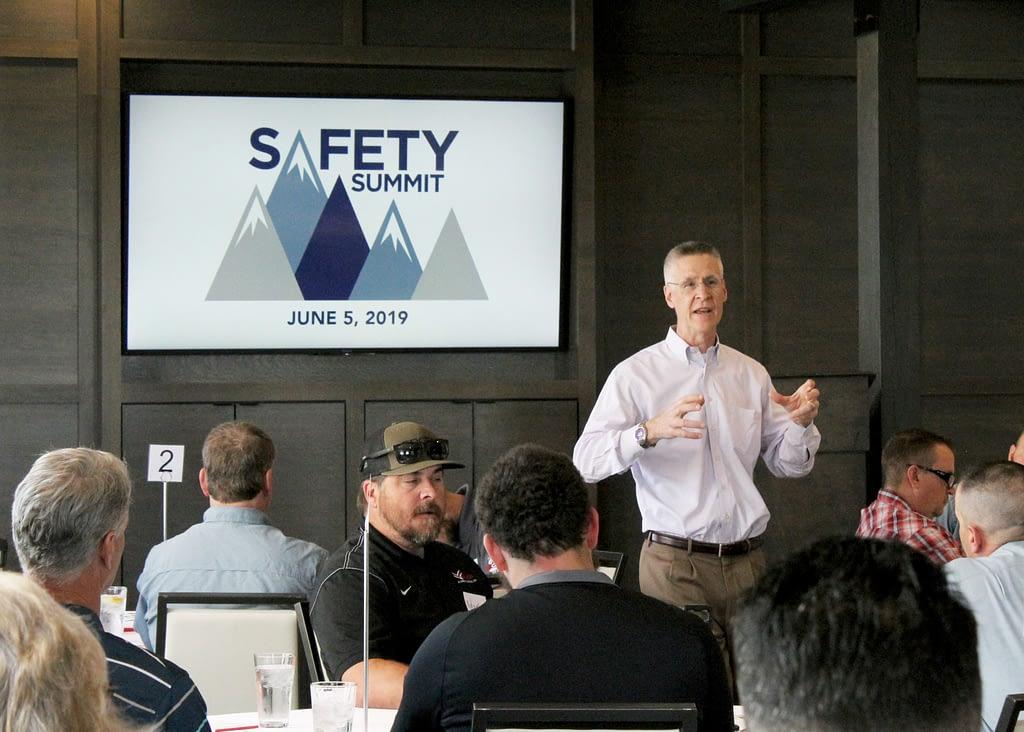 Jim Johnson Speaking at Safety Summit